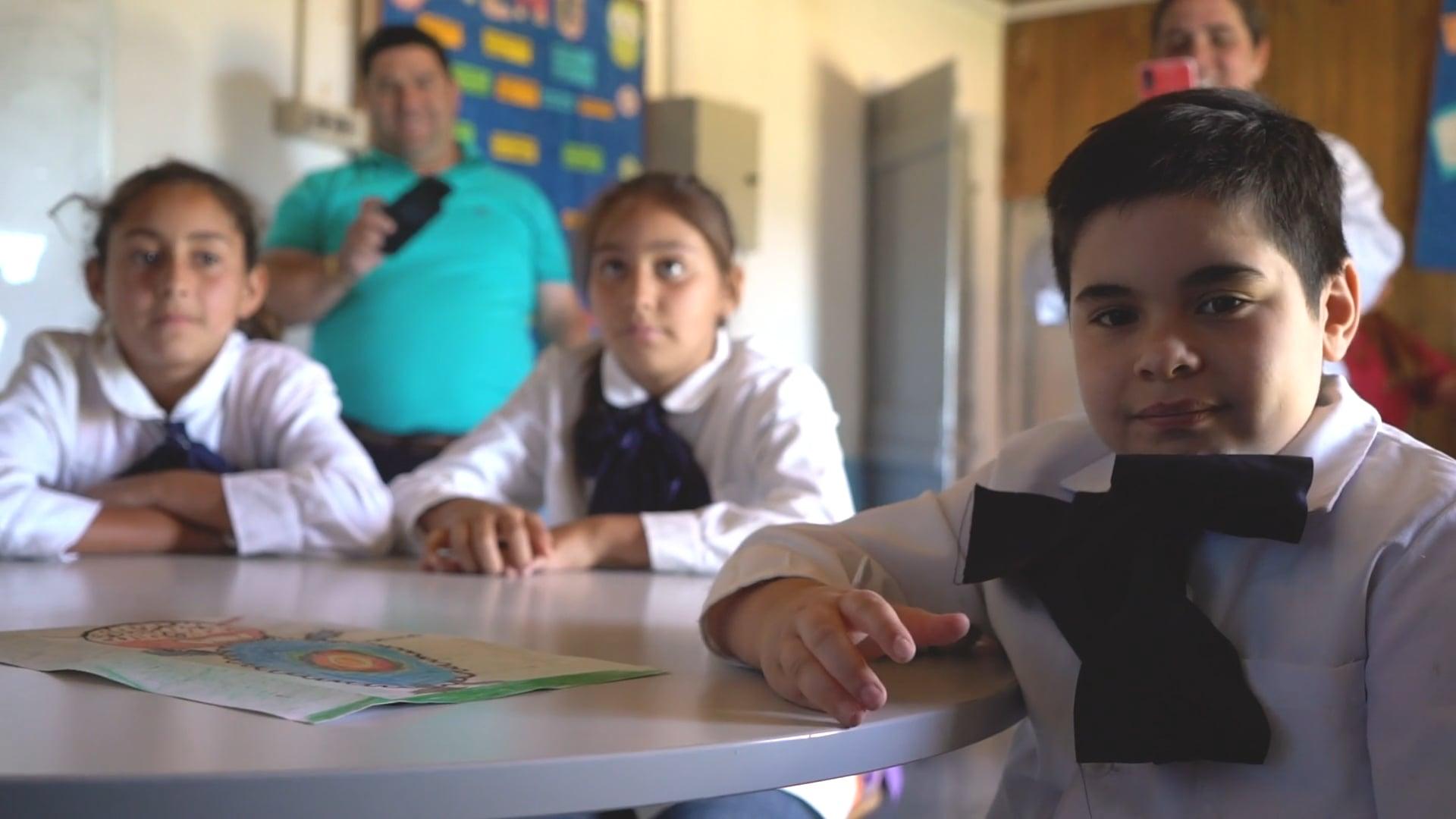 THE MONSTER PROJECT ALLIES: URUGUAY - Escuela Rural Nº35 Paso de Ceferino