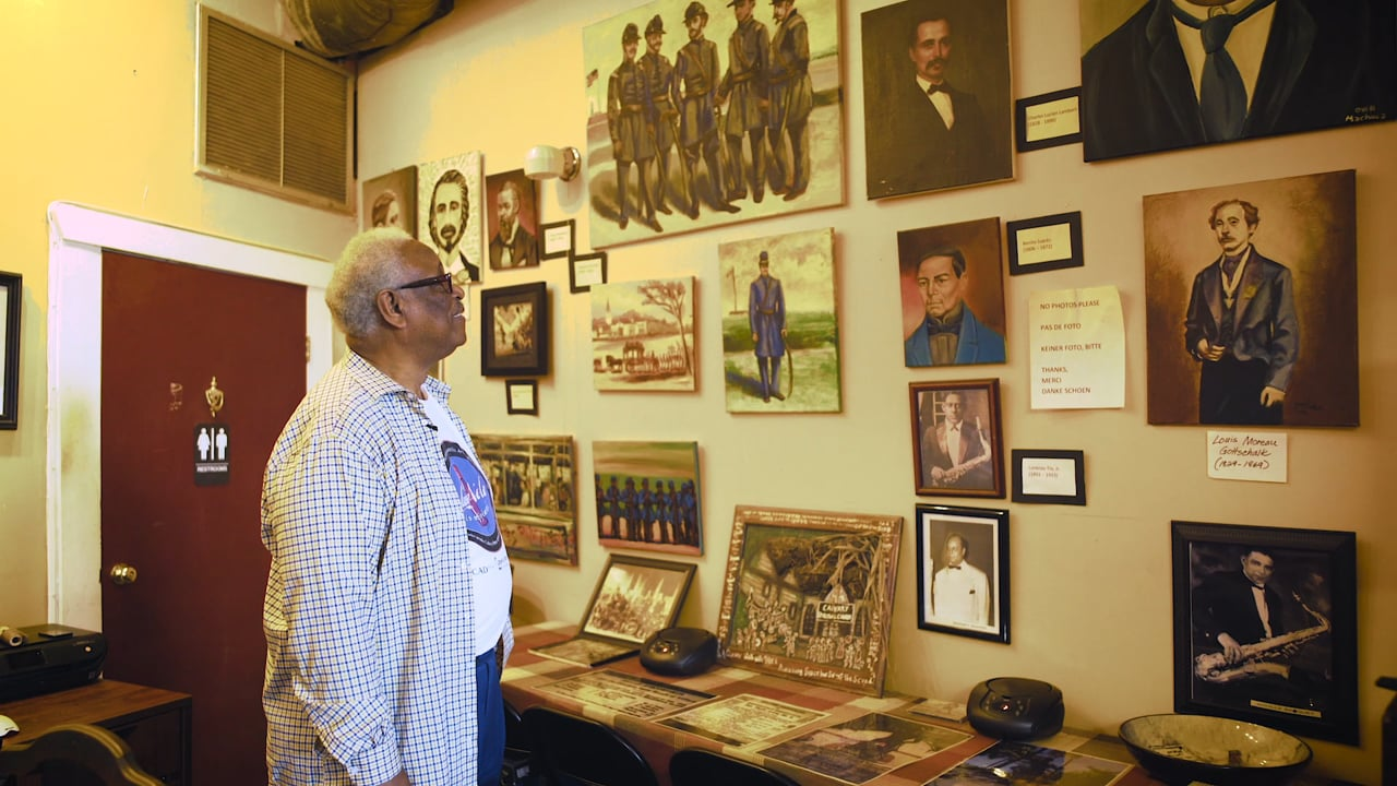 Antenna::Signals::Docs: Al Jackson of the Treme Petit Jazz Museum (dir. Carl Harrison )