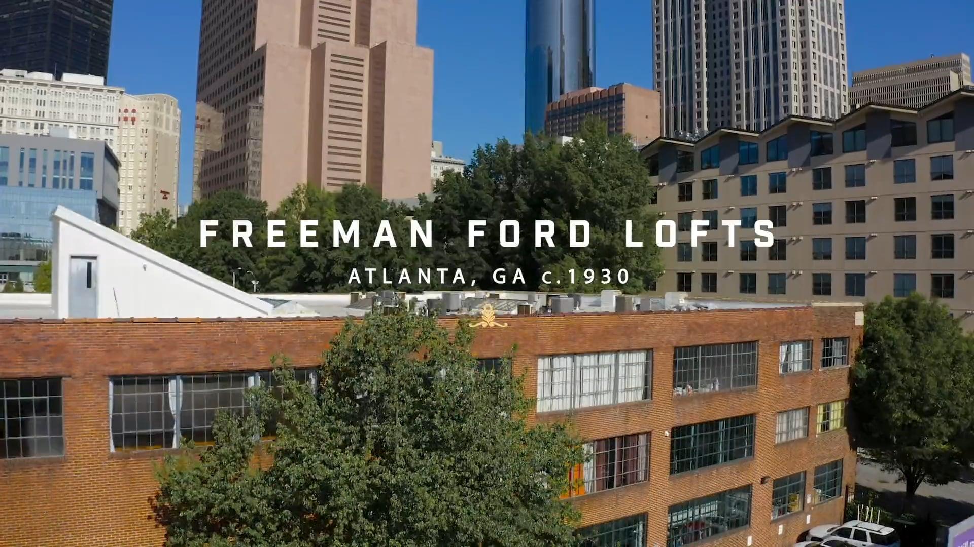 Freeman Ford Lofts Atlanta