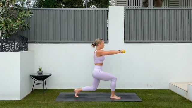 30min ab and glute workout with weights