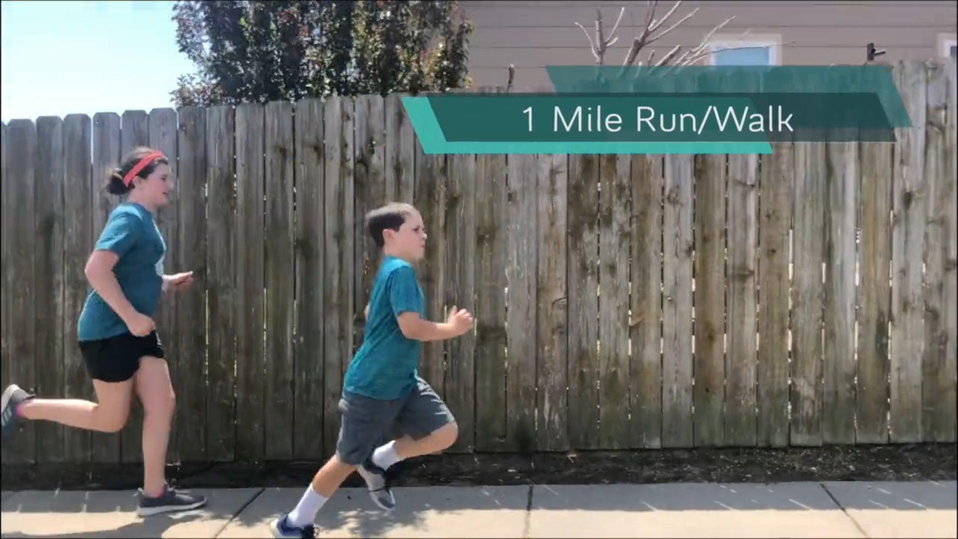 PYFP Challenge - Mile Run/Walk