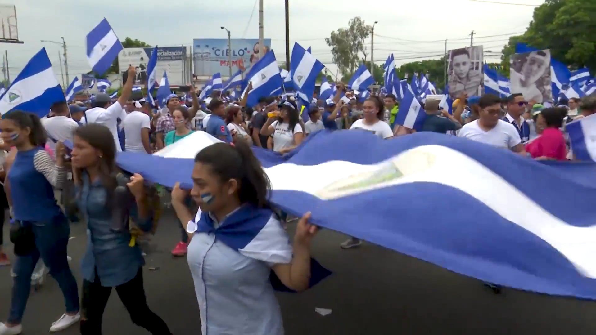 Teaser del documental Nicaragua Patria Libre para vivir (La insurrección de los nietos de la revolución sandinista)