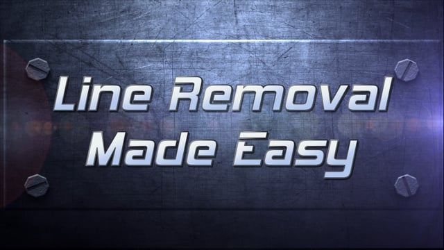 Pro Tip Line Removal Made Easy