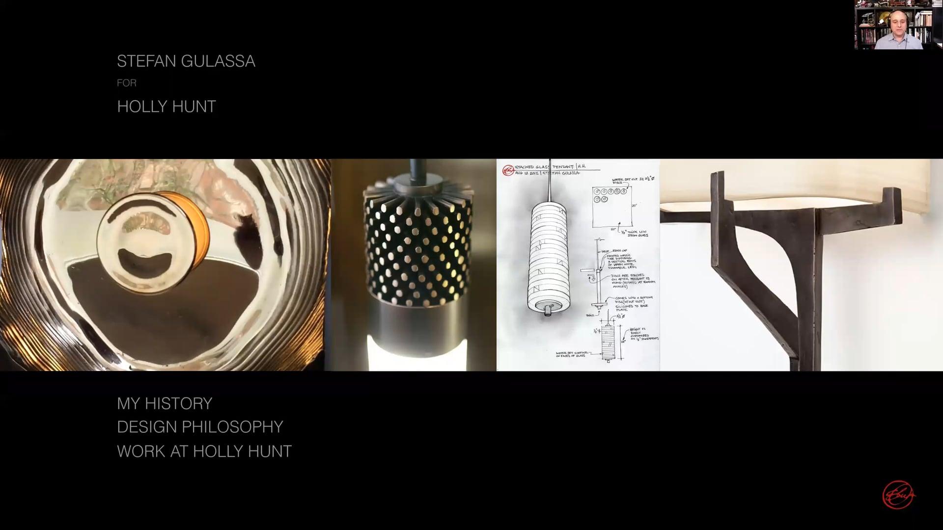 Design Salon Series –  A Celebration of Materials with Lighting Designer Stefan Gulassa