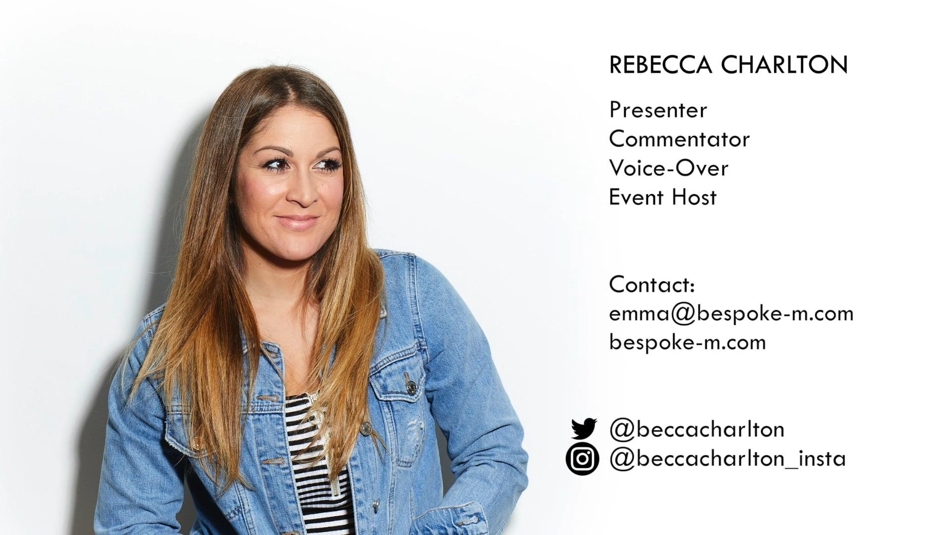 Rebecca Charlton Showreel 2020