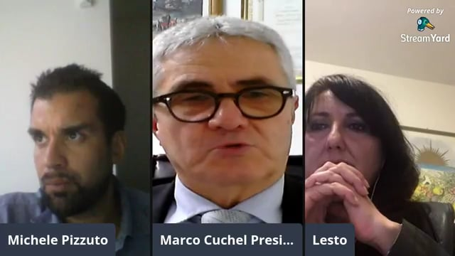 I Presidente dell'Associazione Nazionale Commercialisti Marco Cuchel e la Presidente di ANC Palermo Loredana Lesto