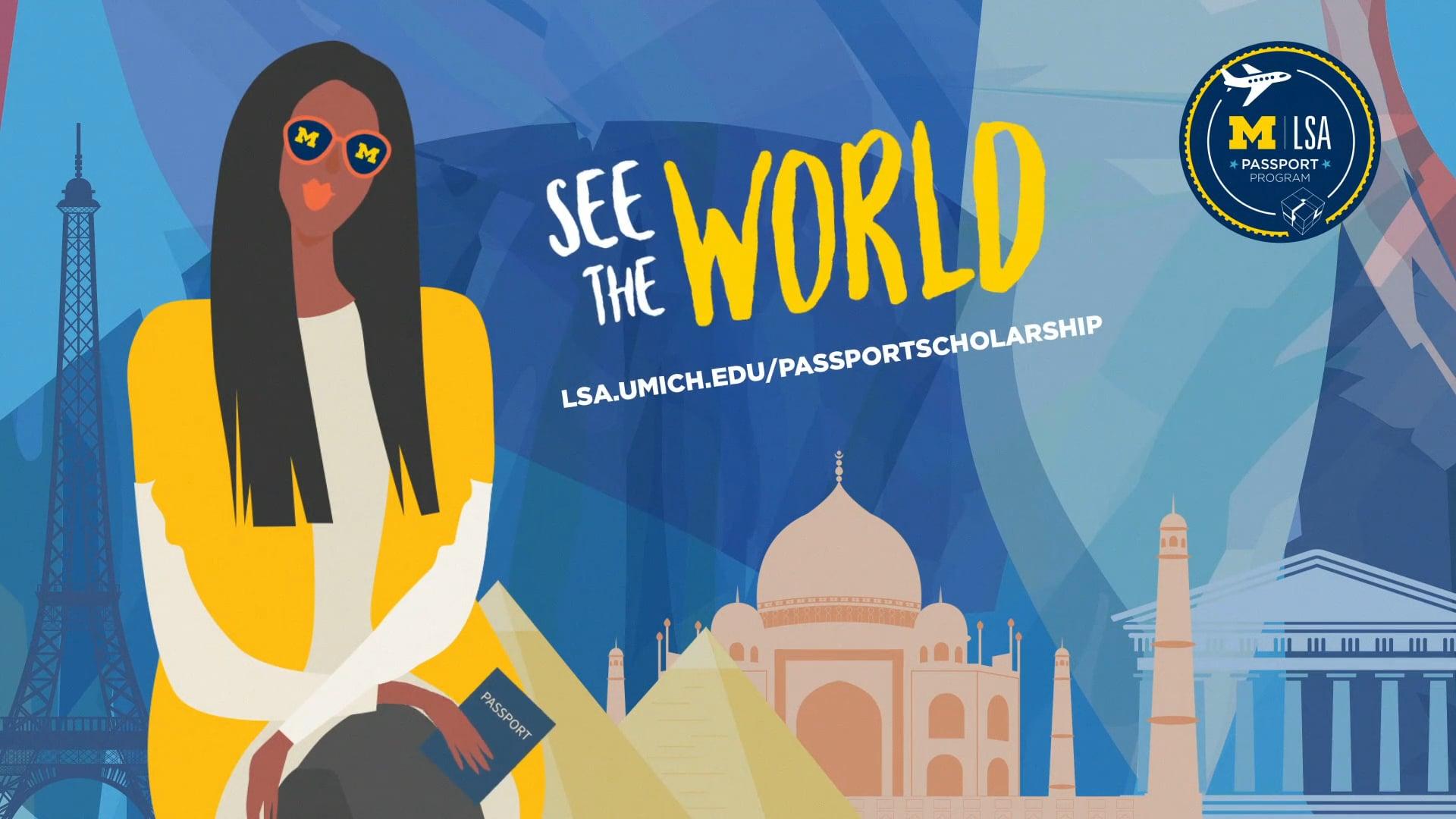 U-M LSA   See the World!