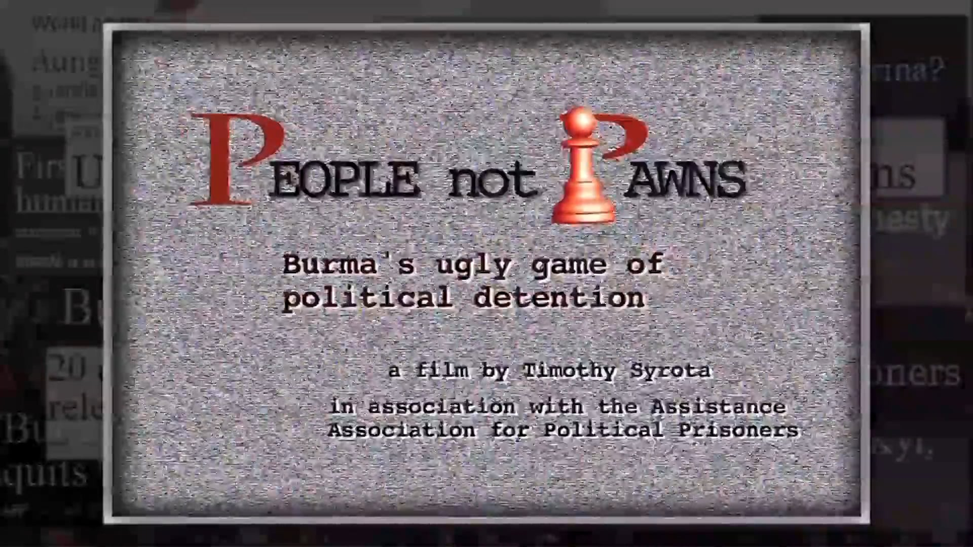 People not Pawns