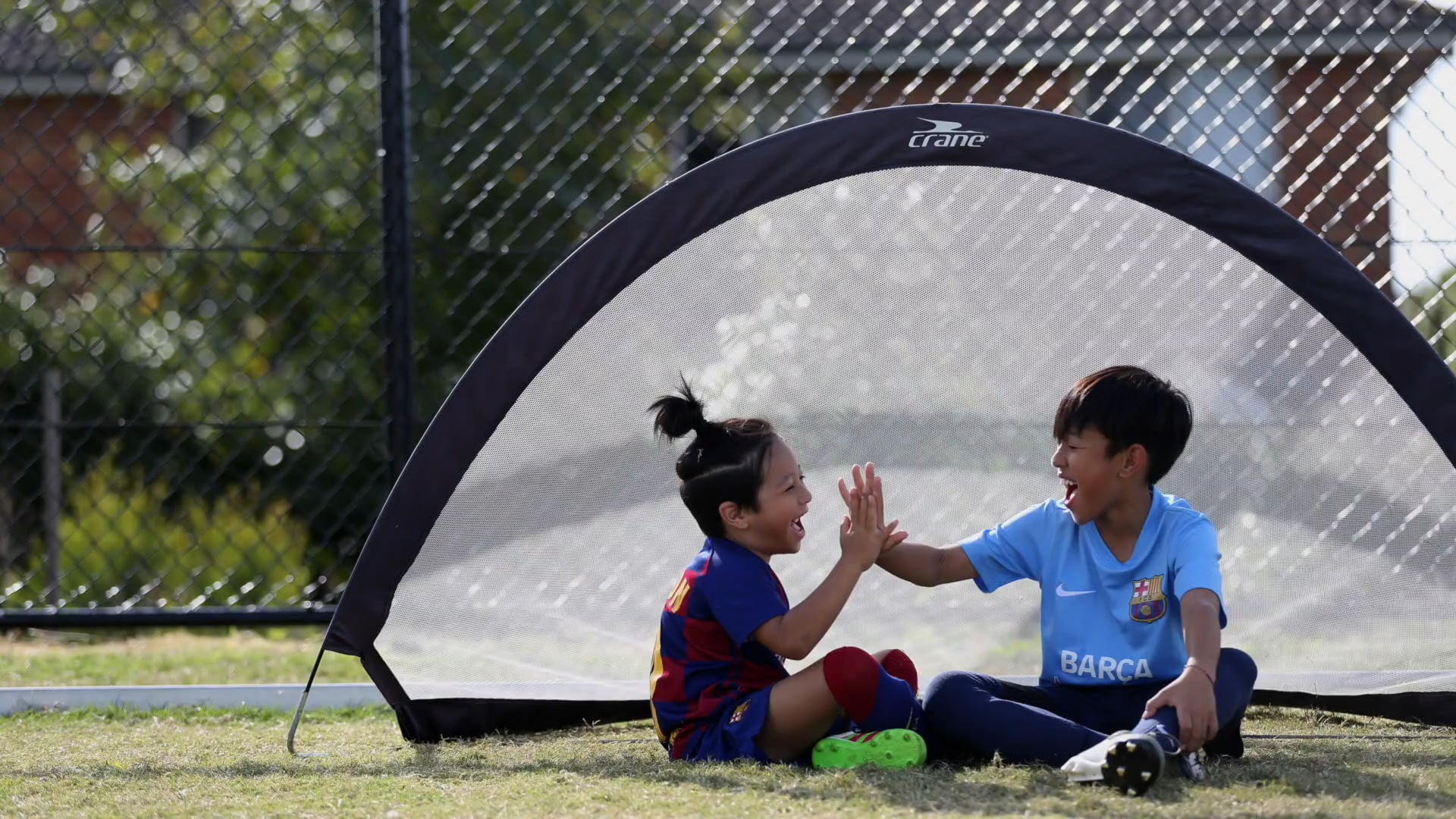 The Ling Brothers | Trick Shots #barcaacademystayhome