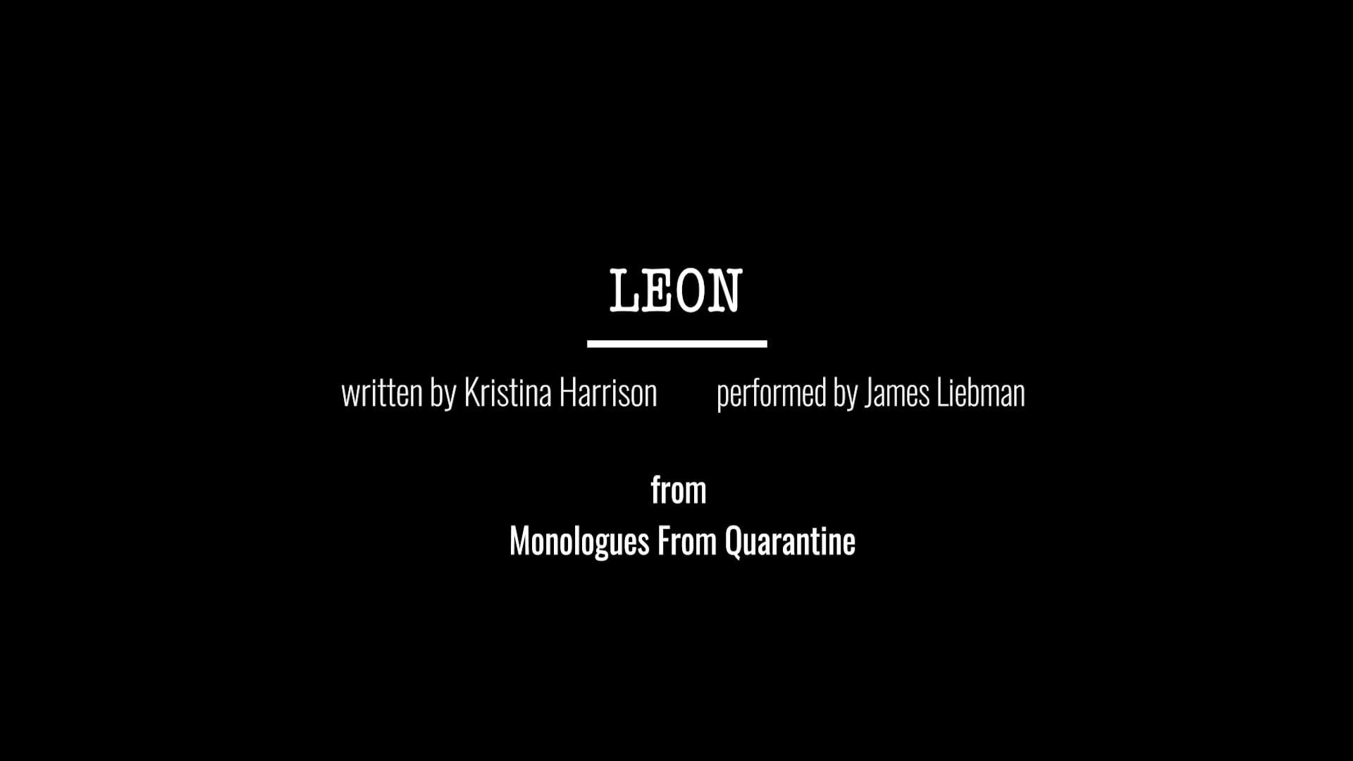 Leon - written by Kristina Harrison