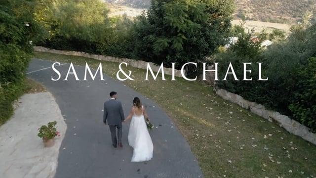 Sam & Michael - Vasilias Nikoklis Inn wedding trailer