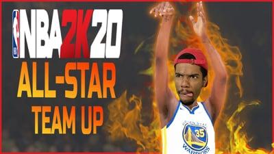 NBA 2K20 All-Star Team Up! MAJOR CRAP Talk - Stream Replay