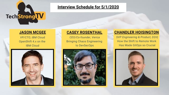 TechStrong TV - May 1, 2020