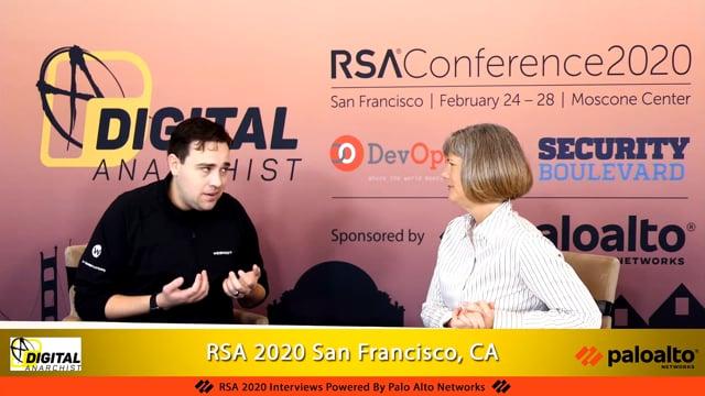 Tyler Moffitt, Webroot | RSA Conference 2020