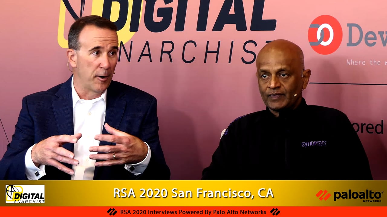 Jim Ivers and Ravi Iyer, Synopsys   RSA Conference 2020