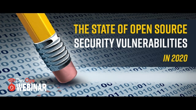 The State of Open Source Security Vulnerabilities in 2020