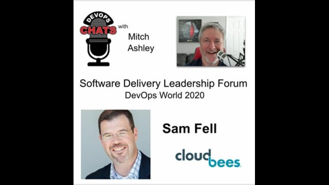 EP 284: Software Delivery Leadership Forum & DevOps World 2020, CloudBees