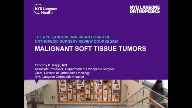 Benign Soft Tissue Tumors