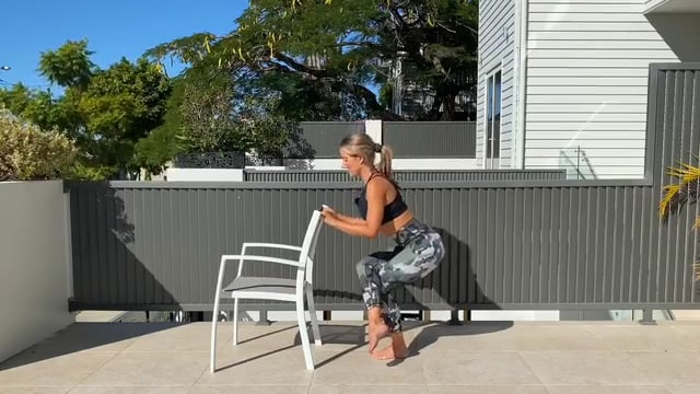 20min barre glute and thigh workout