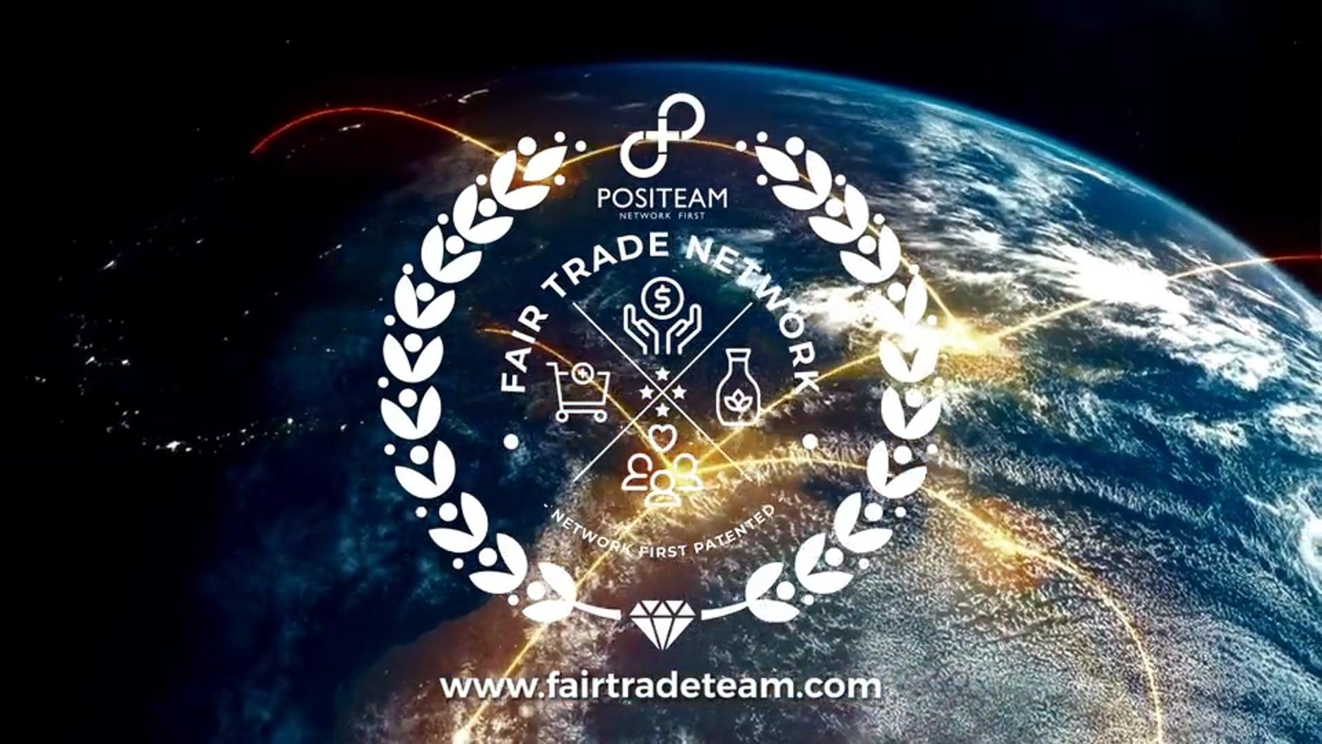 Positeam Fair Trade Network exclusive prelaunch invitation. Eu-Countries and UK