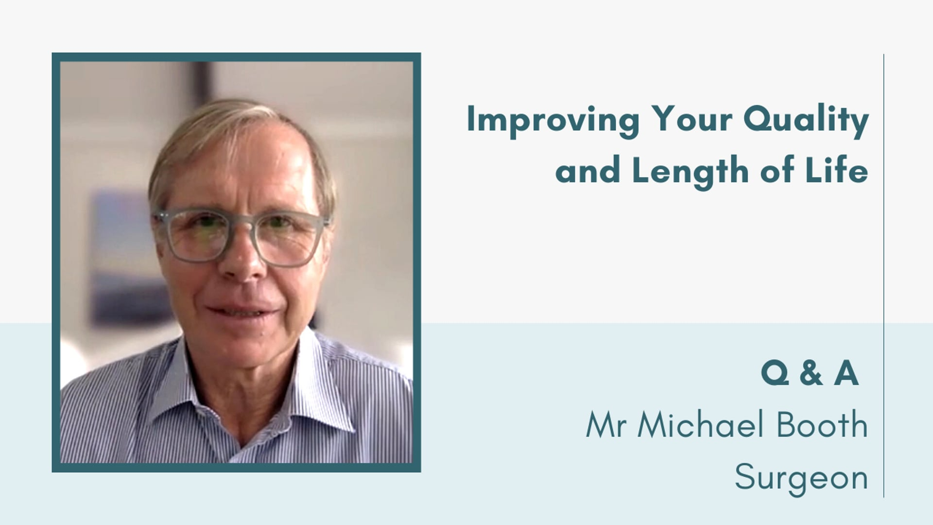 Improving Your Quality and Length of Lfe