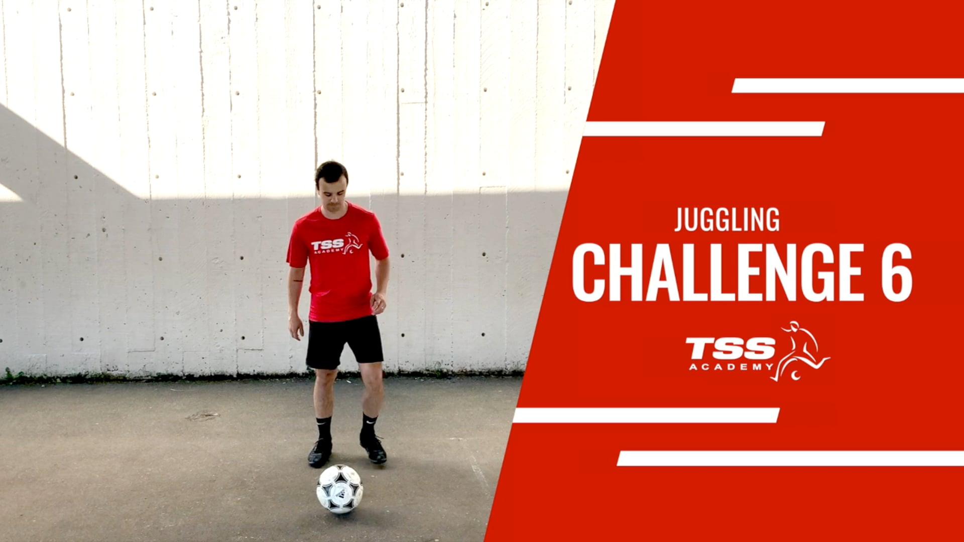 TSS Juggling Challenge 6