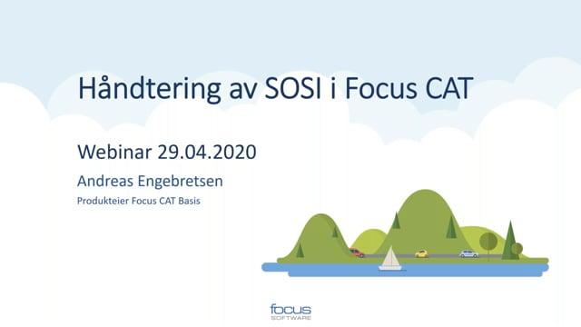 Håndtering av SOSI i Focus CAT