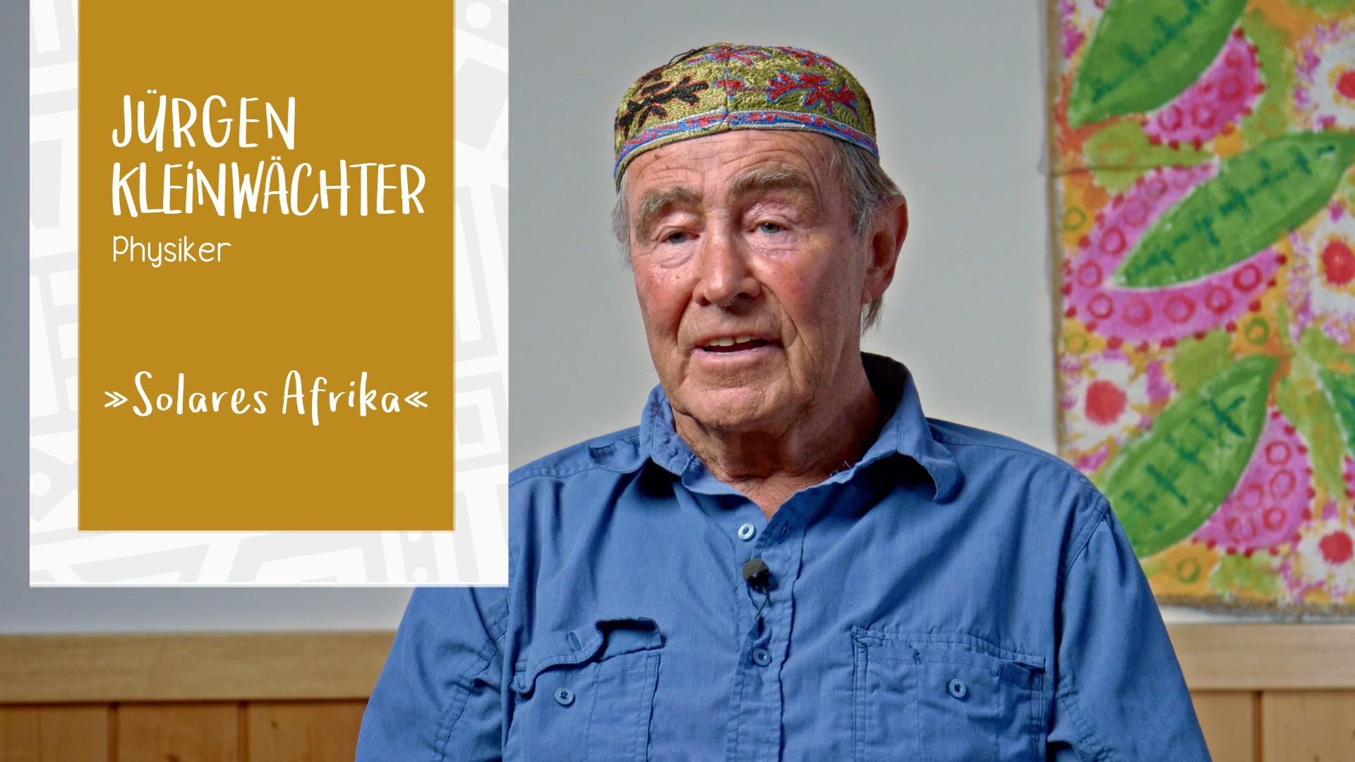Jürgen Kleinwächter – Solares Afrika