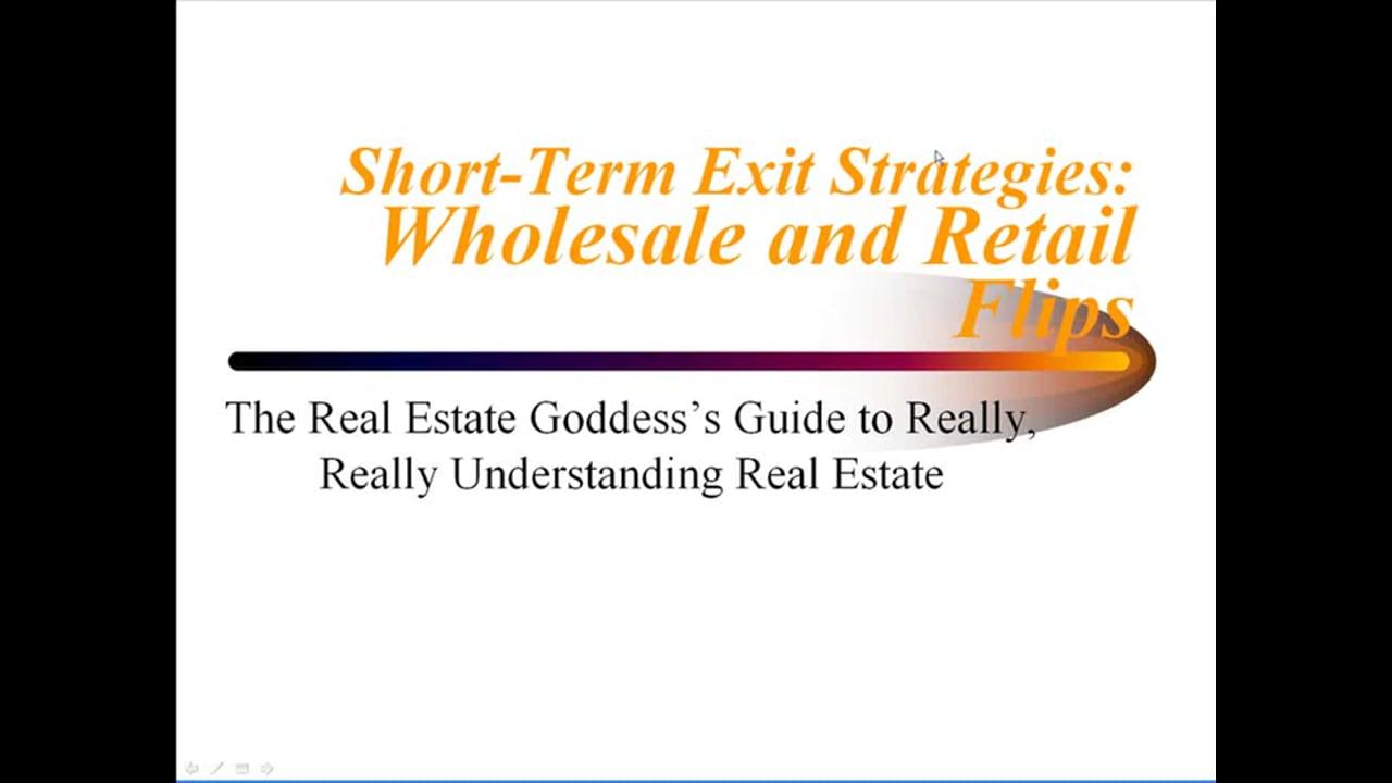 Short-Term Exit Strategies