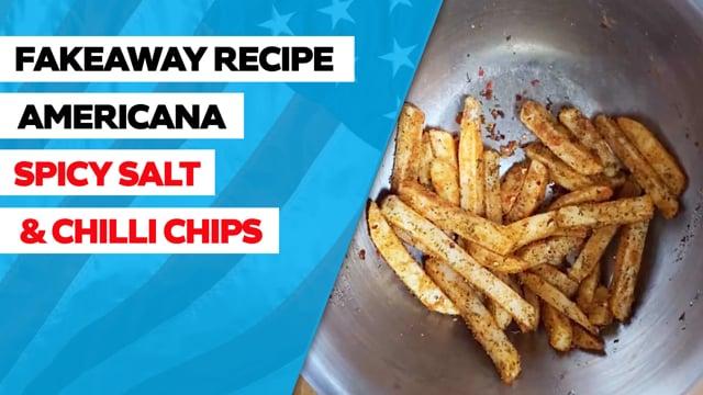 Fűszeres és chilis chips recept
