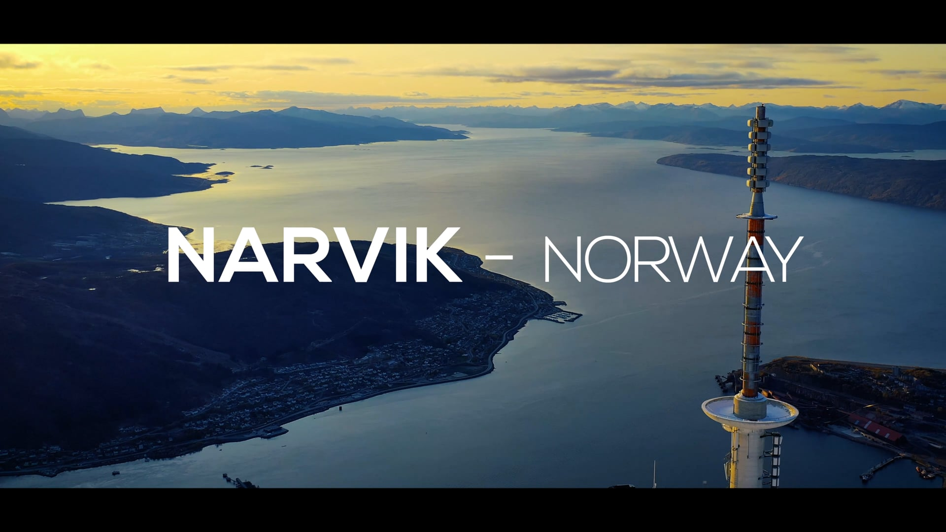 Narvik Harbour - Welcome to the journey