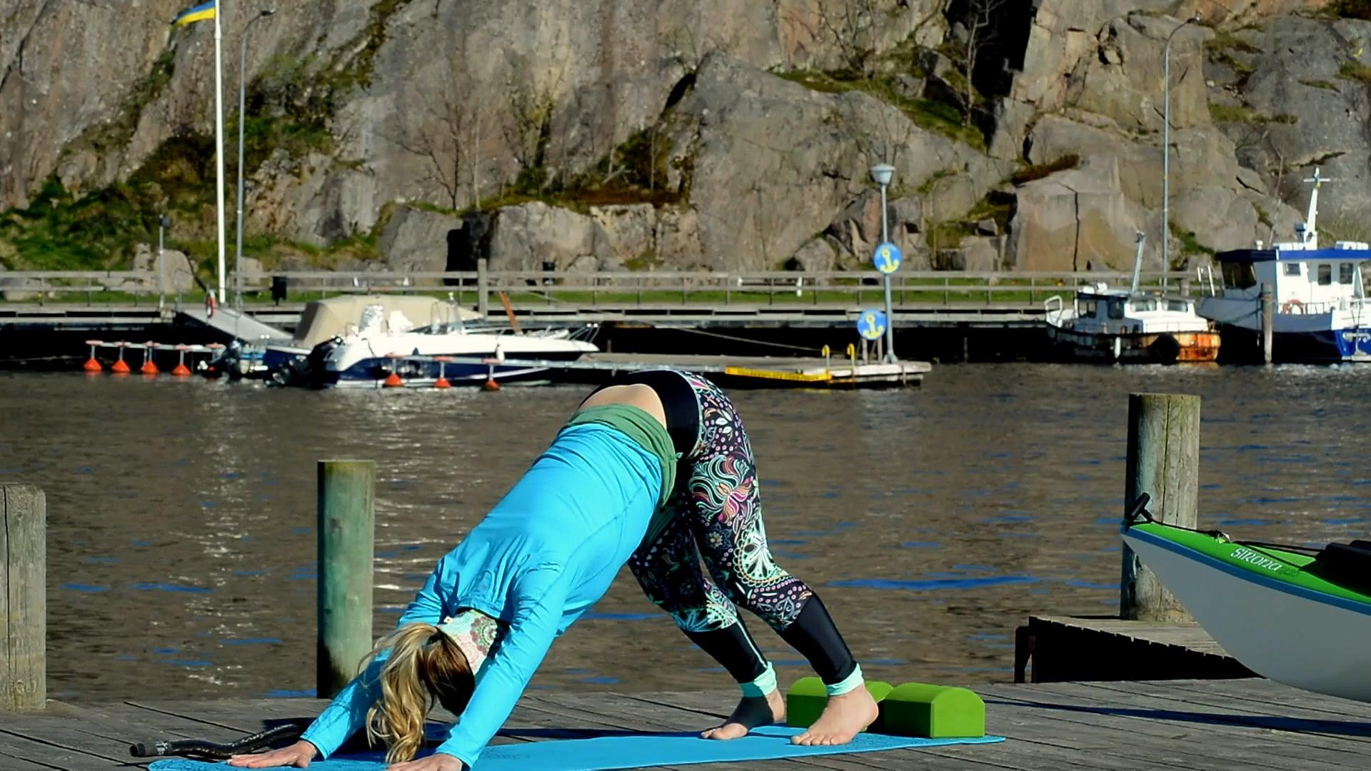 Yoga Flow Äventyr Yoga Intro