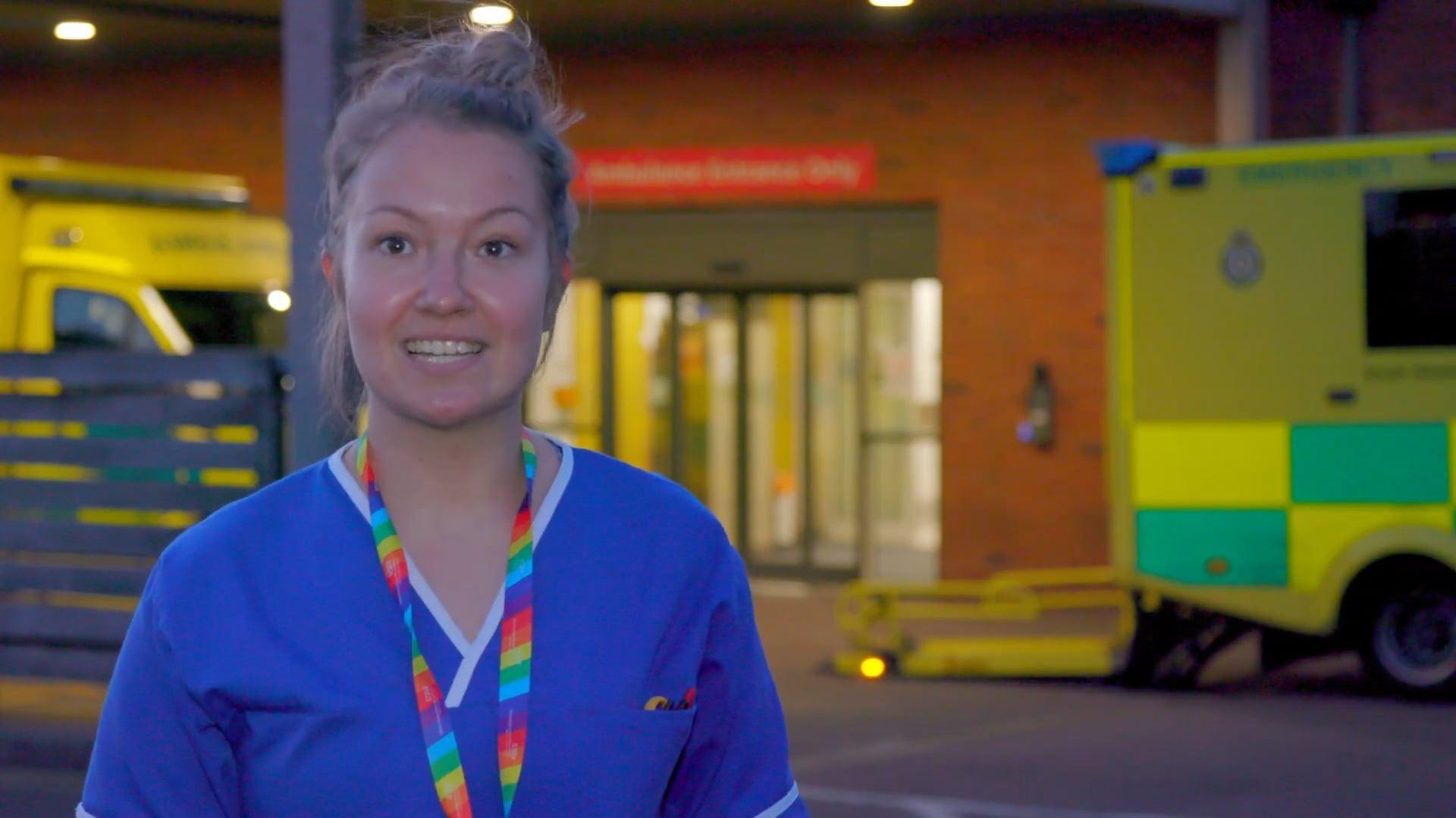I am a Gloucestershire Midwife