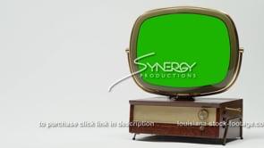 1905 Philco Predicta vintage television green screen replacement