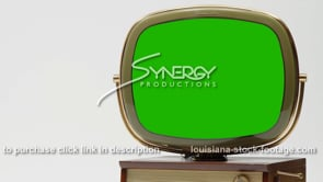 1909 Green screen 1950s Philco Predicta Holiday tv