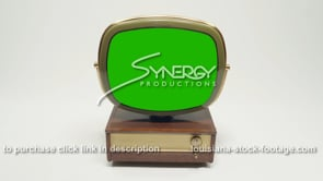 1922 Philco Predicta Holiday MS high angle green screen