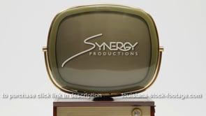 1924 Vintage tv retro Philco Predicta Holiday television close up