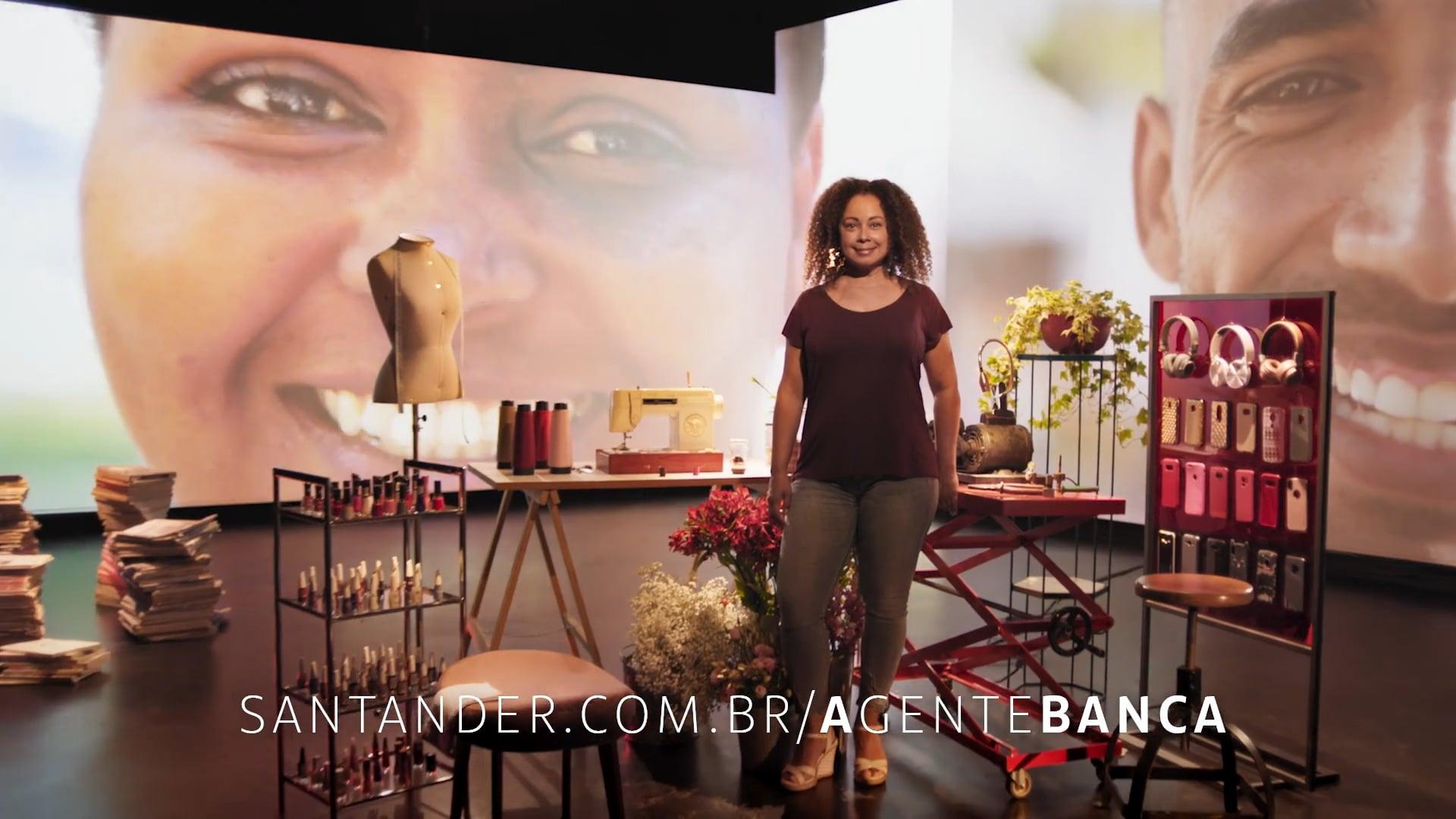 SANTANDER - A Gente Banca Costureira