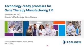 Technology-ready processes for Gene Therapy Manufacturing 2.0