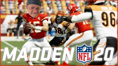Playing Madden With Ninja Members, I Can't Be Beat! - Stream Replay