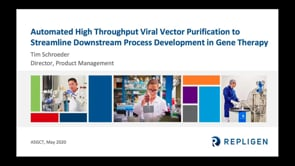 Automated High Throughput Viral Vector Purification to Streamline Downstream Process Development in Gene Therapy