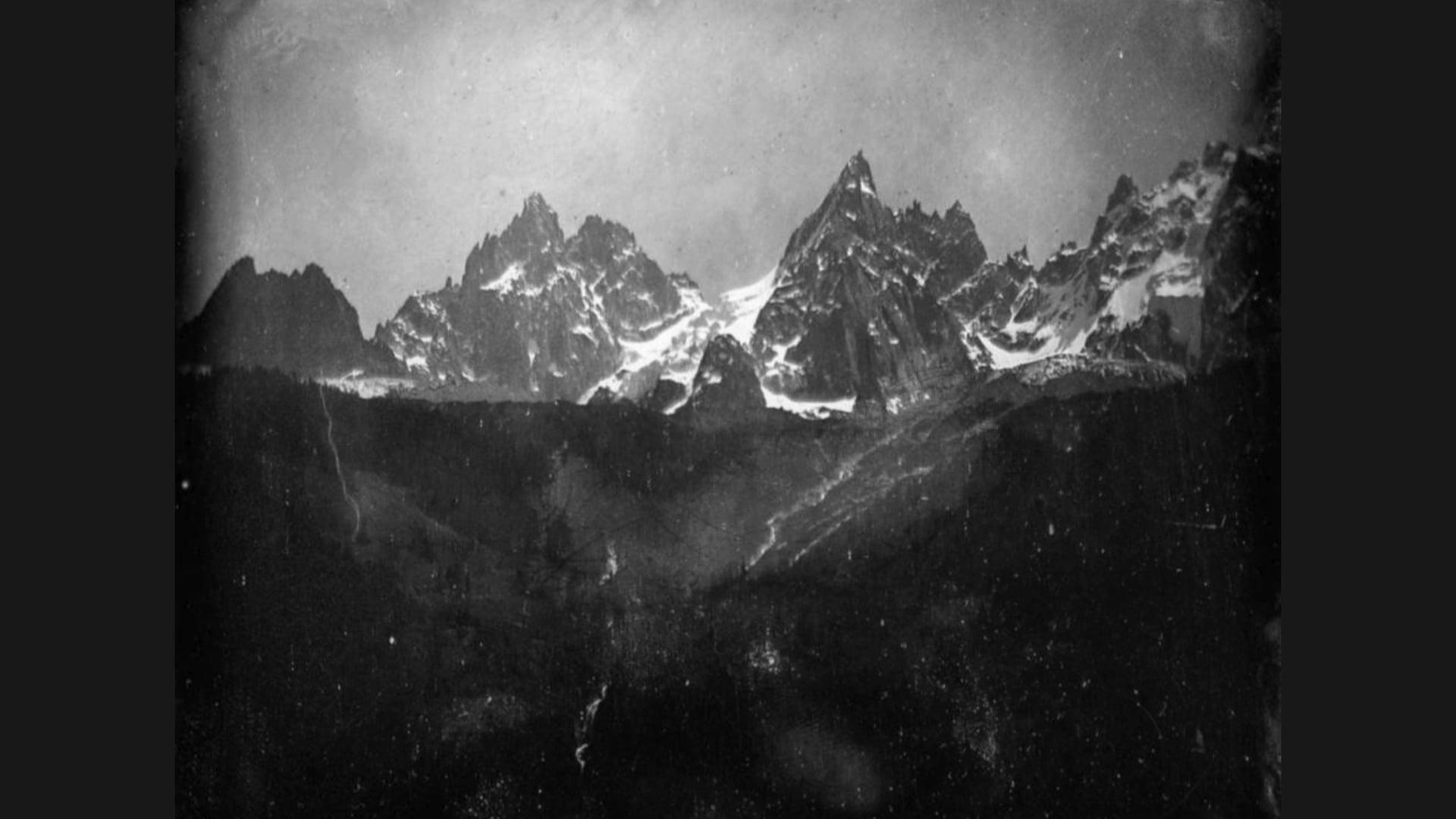 Jacques Perconte, Avant l'effondrement du Mont Blanc, 2020