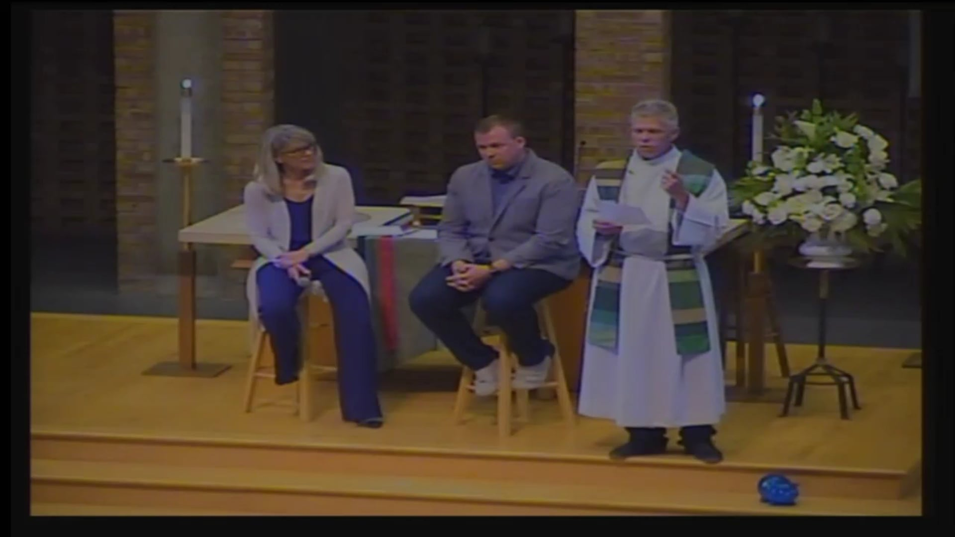 """Pastor Jason Van Hunnik """"Our Callings at Work"""" Interview Sermon with Tracy Wiese and Tom Hegblom"""