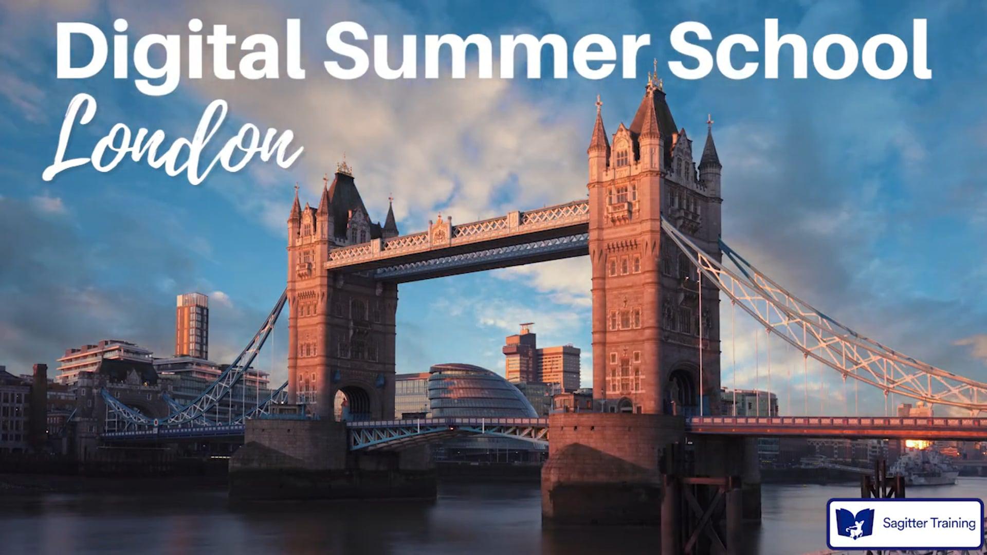 Commercial SAGITTER TRAINING Digital Summer School