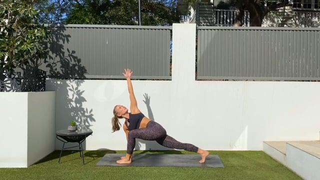 20min stretchy flowy workout