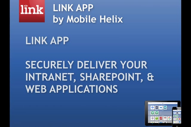 LINK App  for Intranet, SharePoint, Web Applications 4:30