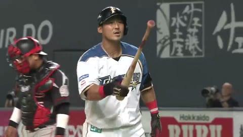中田翔、ベンチに向かって「あるコト」を要望