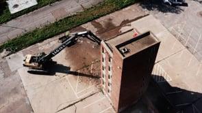 Fire Tower Demolition Drone