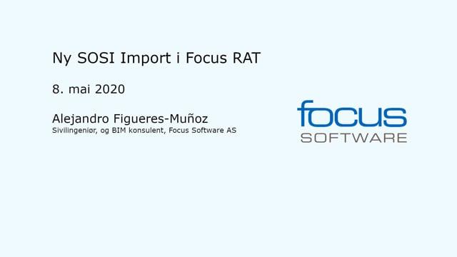 SOSI Import Focus RAT 2020
