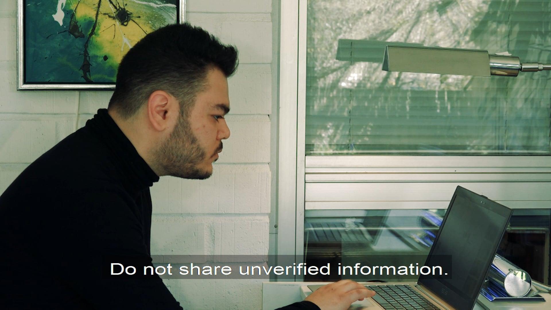 UNESCO Coronavirus information english TV subtitles
